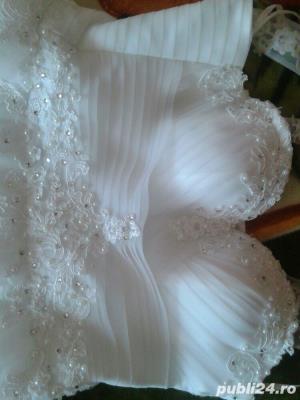 Rochie de mireasa Sadrini Style - imagine 8