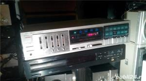 Fisher RS-225 Stereo Receiver Amplificator statie Amplituner 2x45W 4 iesiri , 4 intrari , radio digi - imagine 3