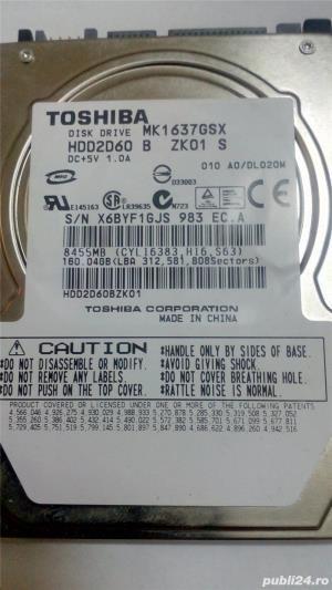 Hard laptop Toshiba MK1637GSX 160GB - imagine 1