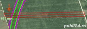 Teren 630 mp ocolitoarea Brasov Tarlungeni Sacele - imagine 4