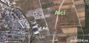 Teren 7083 mp ocolitoarea  centura Brasov Tarlungeni Sacele - imagine 1