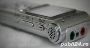 Ocazie 2GB reportofon stereo SONY ICD-UX200 impecabil ca nou - imagine 1