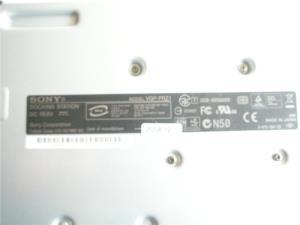 Docking station sony VGP-PRSZ1 compatibil laptop Sony seria VGN-Z laptop port replicator - imagine 4
