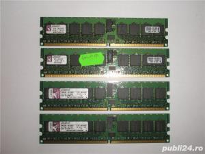 Memorie ram server Kingston 2GB (2 x 1GB) DDR2 ECC PC2-3200R 400Mhz  - imagine 1