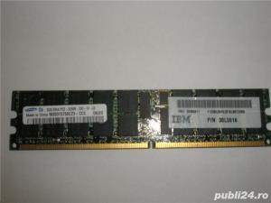 Memorie ram server workstation Samsung 2GB PC2-3200R DDR2-400 register  - imagine 1