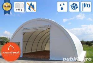 Cort Depozitare/Hala, Tunel Semirotind, 9,15m x 26m x h 4,5m - imagine 2