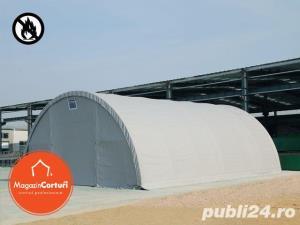 Cort Depozitare/Hala, Tunel Semirotind, 9,15m x 26m x h 4,5m - imagine 3
