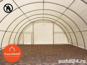 Cort Depozitare/Hala, Tunel Semirotind, 9,15m x 26m x h 4,5m - imagine 10