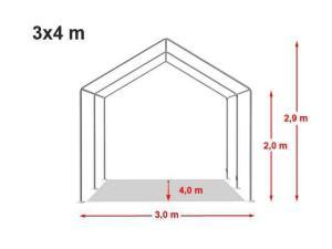 Cort Evenimente 3x4m Eco  - imagine 11