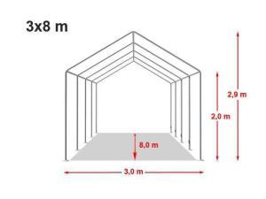 Cort Evenimente, Nunti, Catering, 3x8 m, nou, Pret producator : 2.175 ron - imagine 12