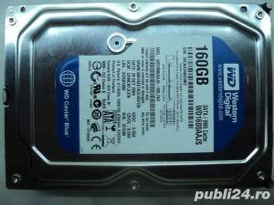 "Hard Disk SATA 3,5"" HDD-160 Gb Western Digital WD1600AAJS - imagine 1"
