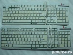 Tastatura PC LG Model KC2 (ST-230) PS2 Alba - imagine 1