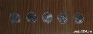 Vand lot 5 monede 25 bani 1982 - imagine 1