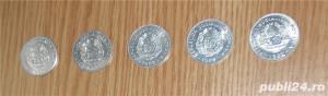 Vand lot 5 monede 25 bani 1982 - imagine 2