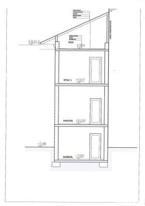 Vila tip bloc, 4 nivele, 260 mp, zona Titulescu Grivita Pod Basarab - imagine 2