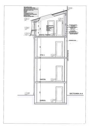 Vila tip bloc, 4 nivele, 260 mp, zona Titulescu Grivita Pod Basarab - imagine 5