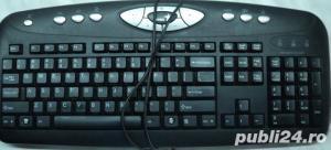 Tastatura Multimedia PC Genius Model: K645 PS2 - imagine 3