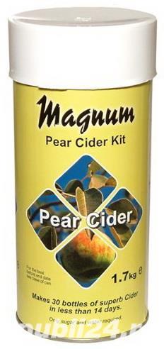 Magnum cidru de pere - kit pentru 23 de litri cidru delicios! Totul pentru bere de casa - imagine 1