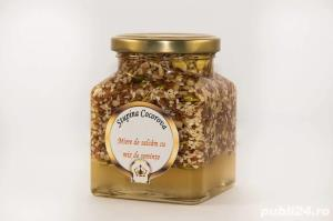 Miere albine naturala de salcam (produse naturiste miere) - imagine 6