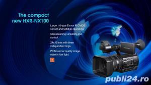Stoc videocamere Sony HXR-NX100 / Panasonic AG-AC30 : model 2016 - imagine 1