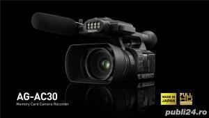 Stoc videocamere Sony HXR-NX100 / Panasonic AG-AC30 : model 2016 - imagine 3