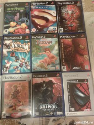 jocuri ps2,playstation pt copii ,tarzan,spider man ,batman - imagine 1