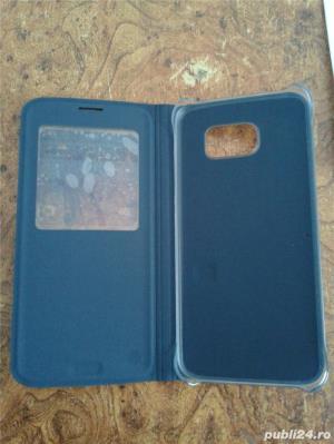 husa Samsung Galaxy S7 EDGE, flip case ,noua - imagine 5