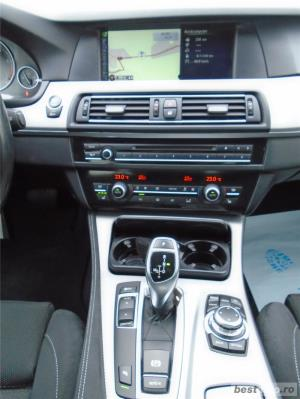 BMW 520d | MPaket | AT8 | 4 usi | 18″ | Xenon | Navi | Senzori parcare | Clima | 2013 - imagine 9