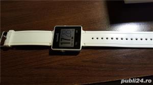 Smart Watch Garmin Vivoactive, display digital touchscreen, GPS incorporat,Culoare: alb - imagine 2