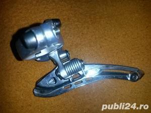 schimbator foi / placi  campagnolo chorus pe colier 28.6 mm greutate 98 grame pret 110 ron  - imagine 4