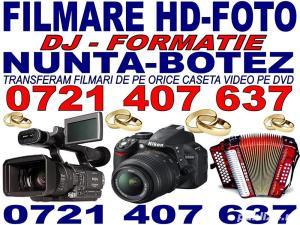 Filmare, foto, video, muzica, dj, la nunta, botez, aniversari - imagine 1
