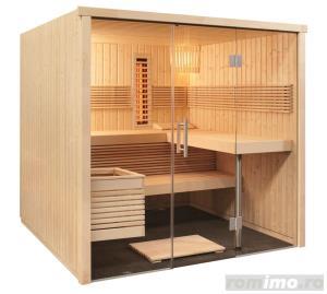 Saune personalizate, saune lambrisate,bio sauna - imagine 14