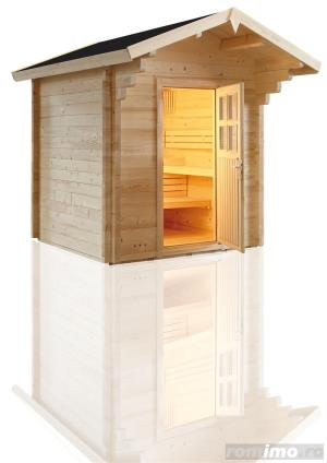 Saune personalizate, saune lambrisate,bio sauna - imagine 18