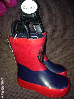 Cizme de cauciuc Disney pt copii cu Spiderman -C6/23 - imagine 1