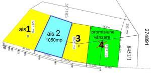 Vand teren 1050mp cu front de 29m la b-dul Fagetului Cluj-Napoca, cu utilitati - imagine 1