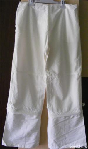 Pantaloni dama albi  - imagine 2