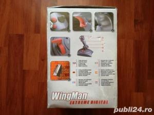 vand Joystick pc wingman logitech ,, nou ,, - imagine 2
