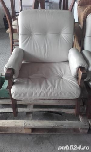 Canapea piele naturala - imagine 4