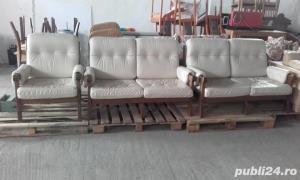 Canapea piele naturala - imagine 2
