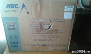 monitor AOC 17 inch, bonus un mouse sigilat - imagine 2