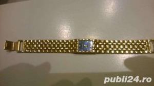 Ceas de dama elegant placat cu aur  - imagine 2