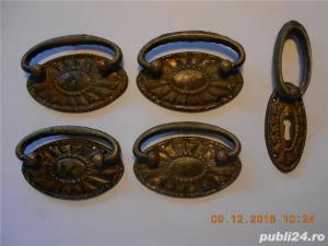 accesoriii   mobilier    din bronz - imagine 2