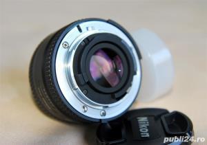 Nikon AF Nikkor 50mm f/1.8D, filtru UV, filtru polarizare  - imagine 3
