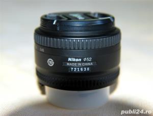 Nikon AF Nikkor 50mm f/1.8D, filtru UV, filtru polarizare  - imagine 4