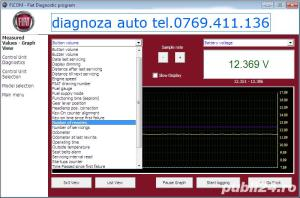 Diagnoza auto Renault Dacia Nissan Fiat Lancia Alfa Romeo cu tester auto si la client - imagine 4