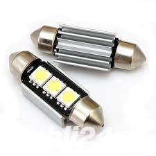 Led SMD auto 12V 13 leduri pozitie, numar sau interior lumina super white  Tuning auto - imagine 2