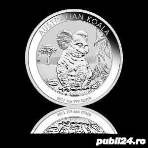 DE VANZARE: 31,10g(1oz) Moneda de Argint Koala 2017 - imagine 1