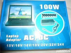 Incarcator Laptop  80W  auto 12V 15V 16V 18V 19V 20V max 4 Ahm 22V 24V max 3 Ahm, 8 tipuri de  - imagine 3