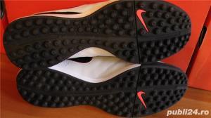 Ghete fotbal sintetic NOI Nike Tiempo marimea 41 piele naturala - imagine 3