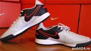 Ghete fotbal sintetic NOI Nike Tiempo marimea 41 piele naturala - imagine 4